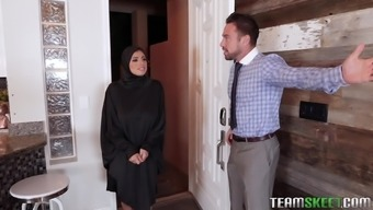 Ella Knox serves as a baby within the hijab who needs to really think a dick in their gap