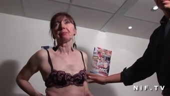 Lively french mature cracked fist fucked and sodomized