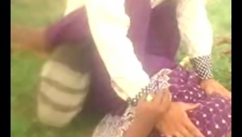 Desi Indian Great Boob aunty secured outdoor part1
