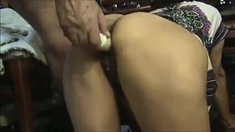 Grimy More senior Uncle Fucks & Licks Furry Indian Lady's Butt