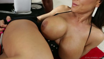 Fascinating blond mother Ms weis Ann as fucked by a matchless stud