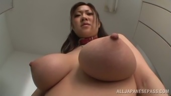 POV Blowjob by Japanese Love by using Big Tits Sayuki Kanno