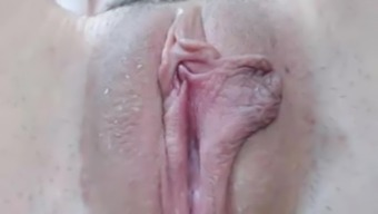 Hairy stormy pussy closeup