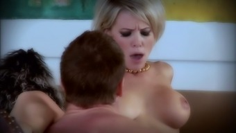 Attractive blond Kayla Synz savours love-making within the reorder cowgirl present