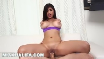 MIA KHALIFA - Getting excess cock from J-Mac behind the images! (mk13784)