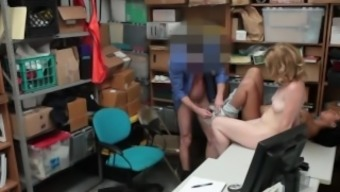 Little toy dolls Bonnie Gray and Maya Bijou get blackmailed into threesome sexual intercourse