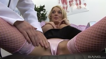 The physician loves it if his patients are shaft demented sluts with nice tits