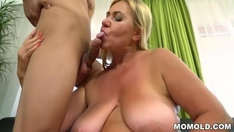 Excess weight granny fucked complicated
