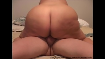 Blond BBW Granny Gets Her Big Booty Fucked