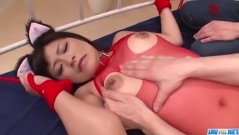 Mind blowing pornography scenes by using heated Aika Hoshino
