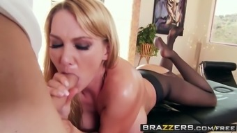 Brazzers - Filthy Masseur - Blake Roze wijn and Chris Movements - A