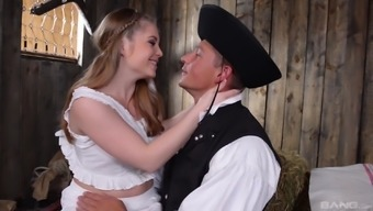 Attractive infant Alessandra Jane likes a stiff dick a little more than anything
