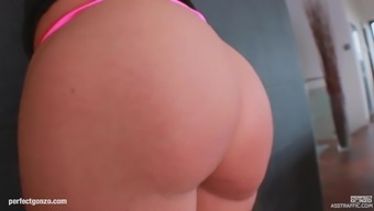 Akasha Cullen in Stupid ass Web traffic scene getting her booty drilled