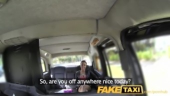 FakeTaxi Taxi rider gets fortunate twofold with the use of severely warm babe