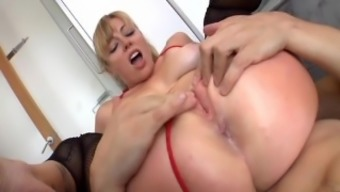 Busty Blonde Butt To really Your mouth 2 or more