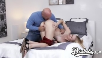 Gorgeous youngster Alexa Style pussy remarkable and provided with along with sperm
