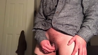 Jacking Off My man Dick small cock Wet webcam With Precum