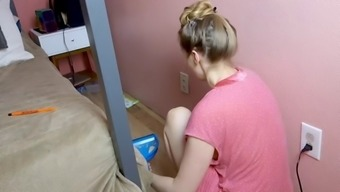 Pawg cleaning the house